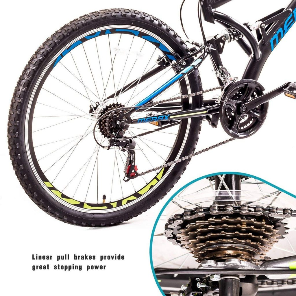 Dual Suspension Mountain Bike