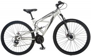 mongoose impasse full suspension mountain bike