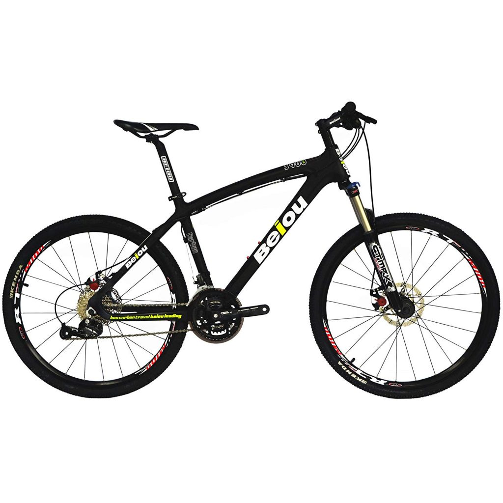 carbon fiber mountain bikes