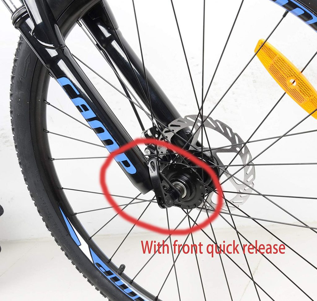 Camp Alloy quick release wheel