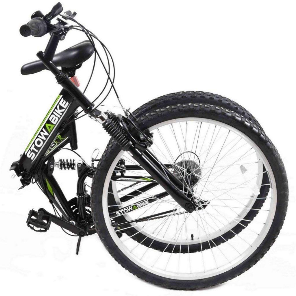 Stowabike 26 folding dimension