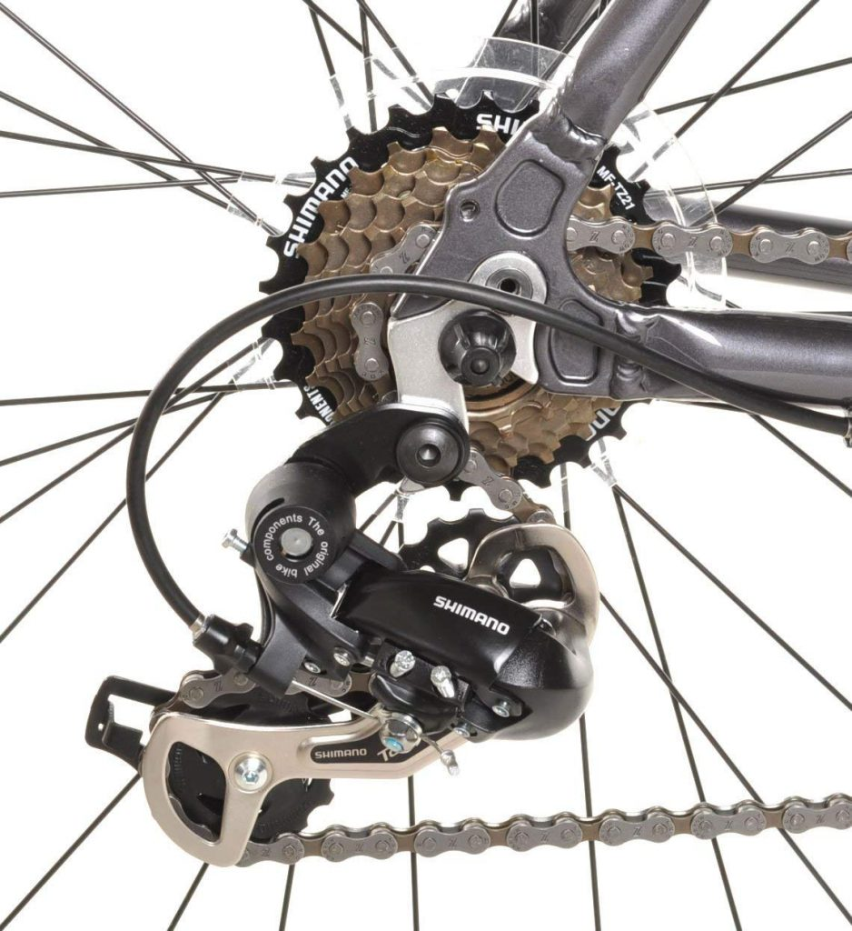 vilano bike's drivetrain
