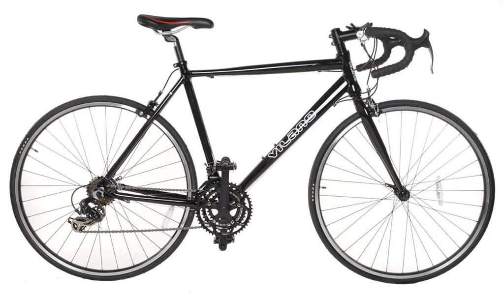 Vilano Aluminum Road Bike 21 Speed Shimano | Free Pedals