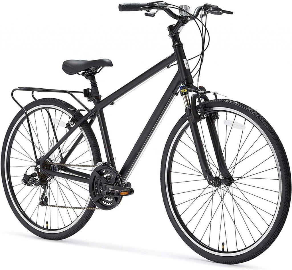 sixthreezero Pave n' Trail Men's 21-Speed Hybrid Road Bicycle,