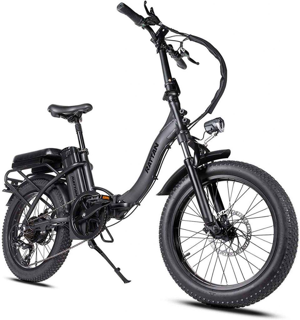 Rattan Folding Electric Bike