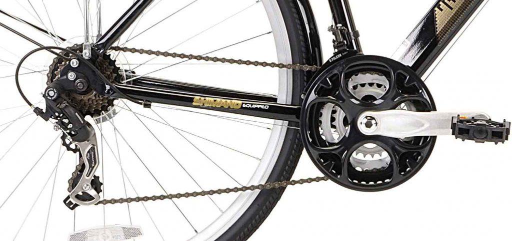 Kent International Hybrid-Bicycles drivetrain
