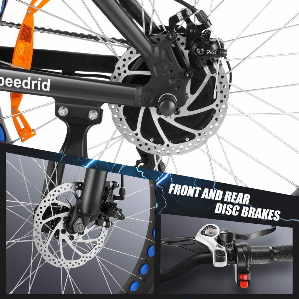Speedrid Electric Bike parts