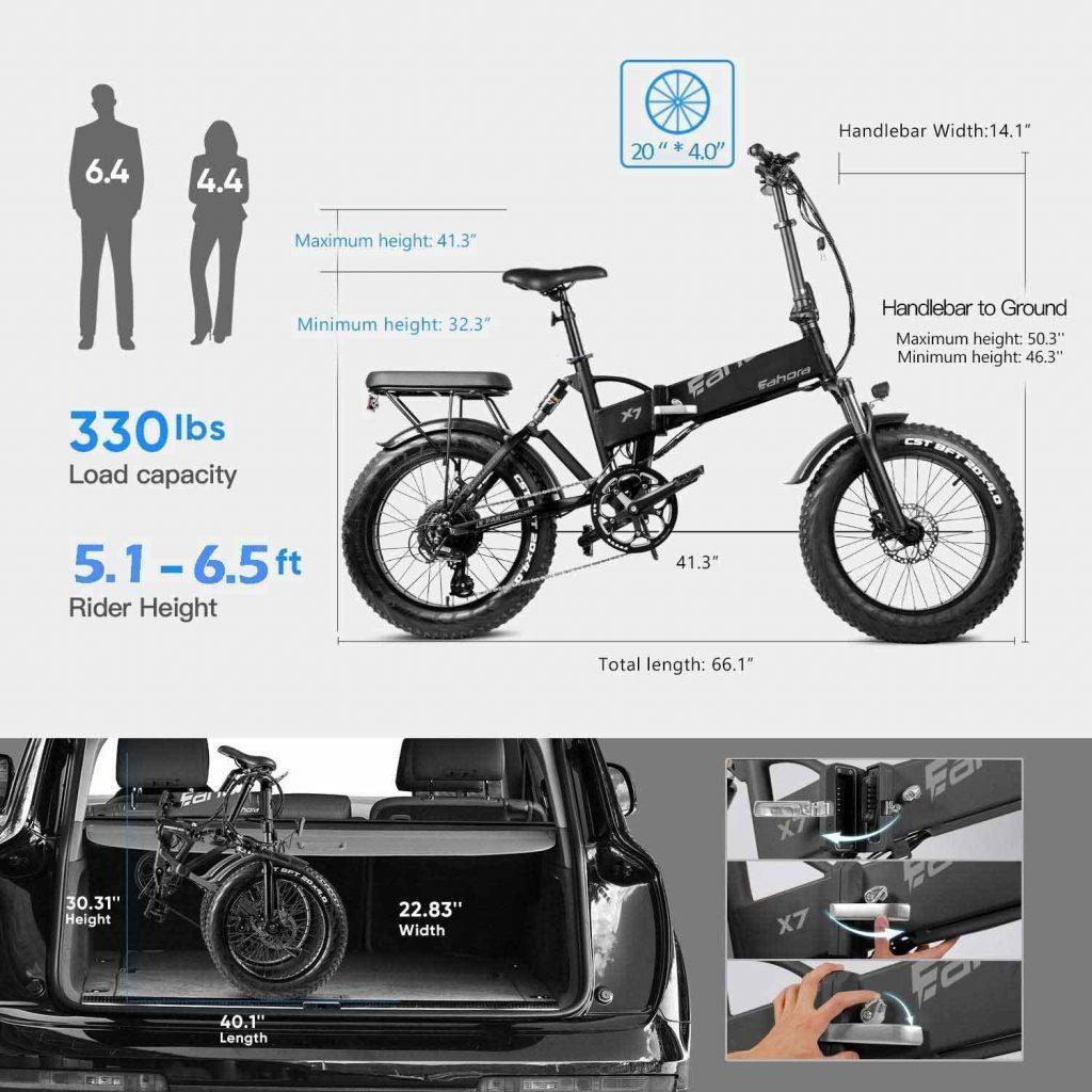 eahora bike specification
