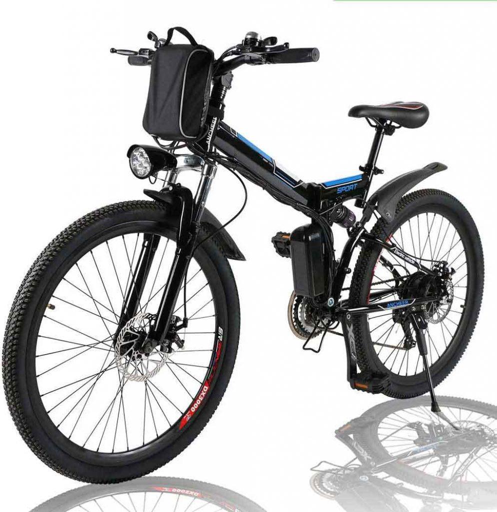 budget foldable electric bike