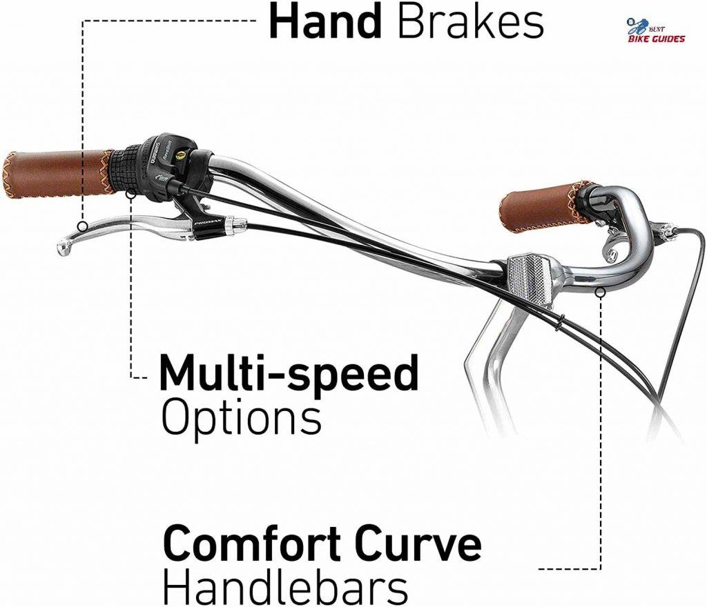women's hybrid bike handlebar