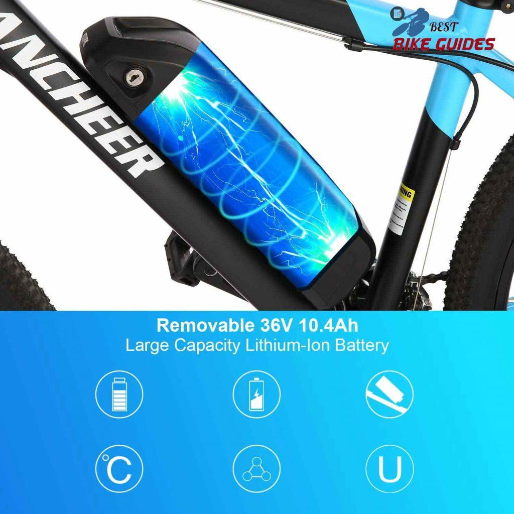 Ancheer e-bike battery