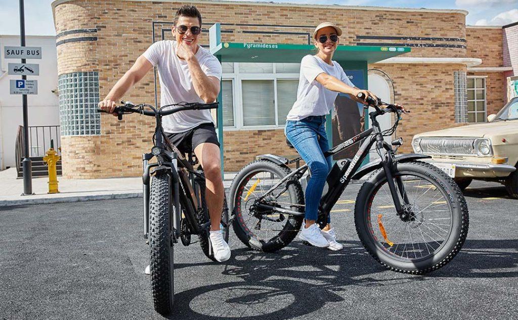 electric bike riding