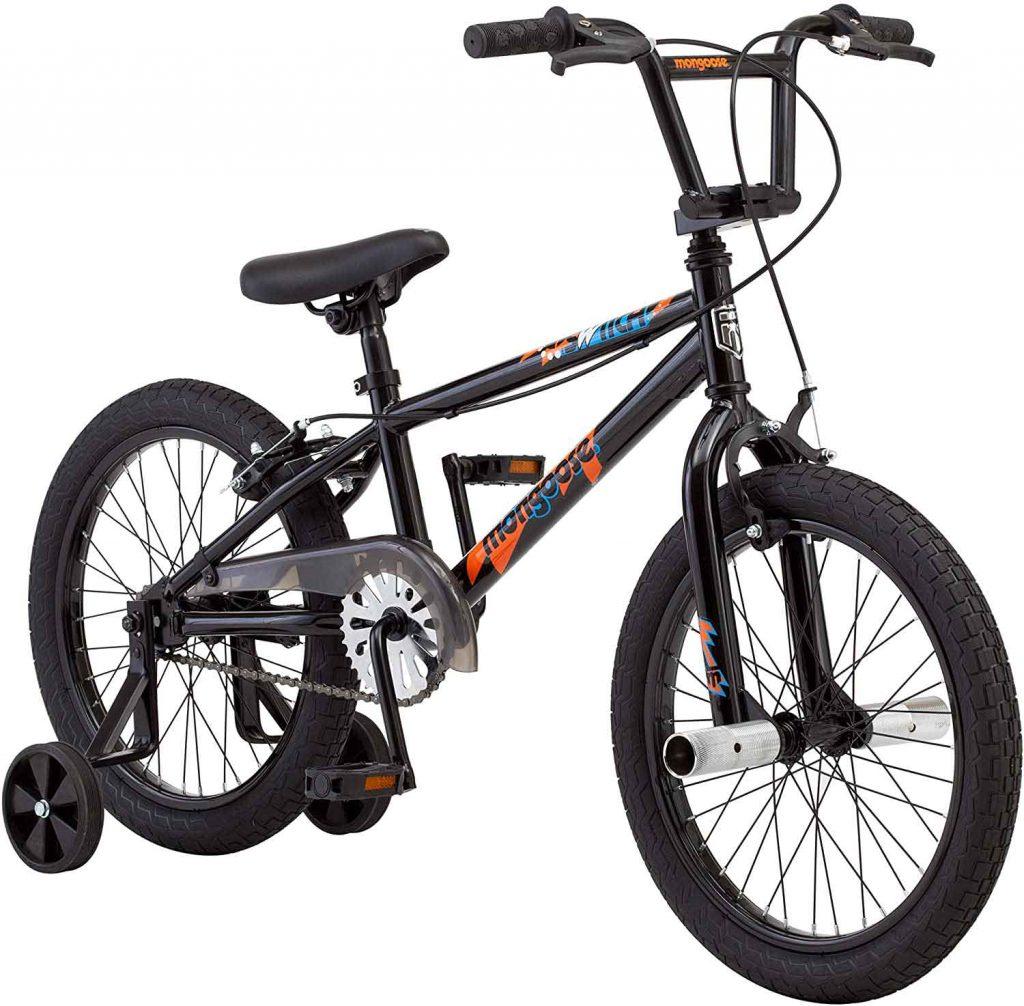 Mongoose kids BMX bike