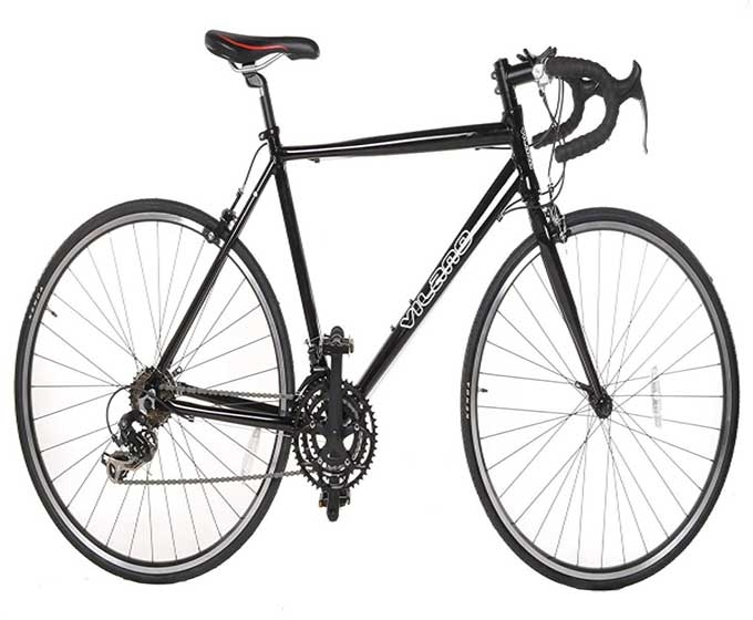 Vilano Aluminum Road Bike 21 Speed Shimano | Free Pedals | Economical-Review-2018