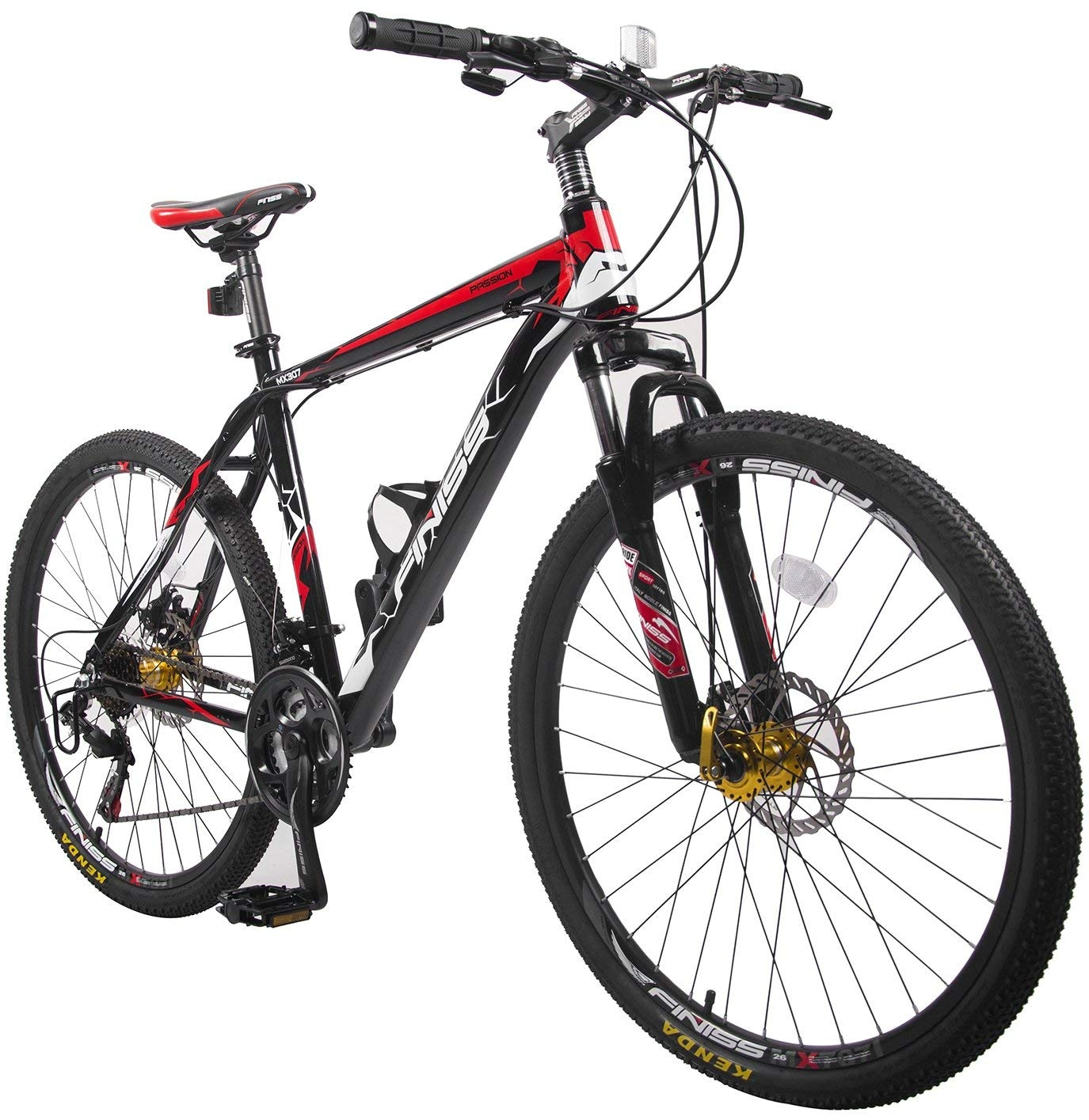 "Merax Finiss Mountain Bike 26"" Aluminum 