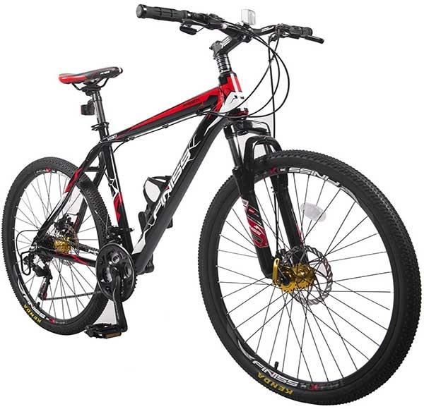 "Merax Finiss Mountain Bike 26"" Aluminum | Makes Beginner a Pro Rider"